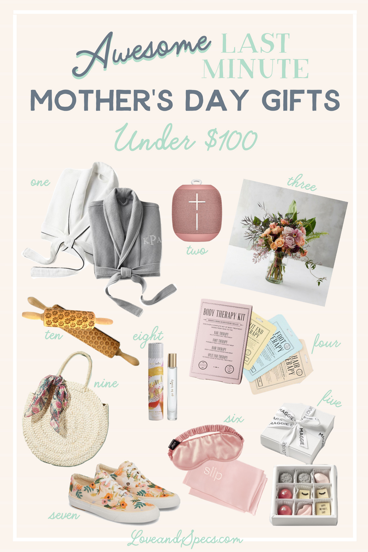 10 Last Minute Mother S Day Gift Ideas Under 100 Love And Specs