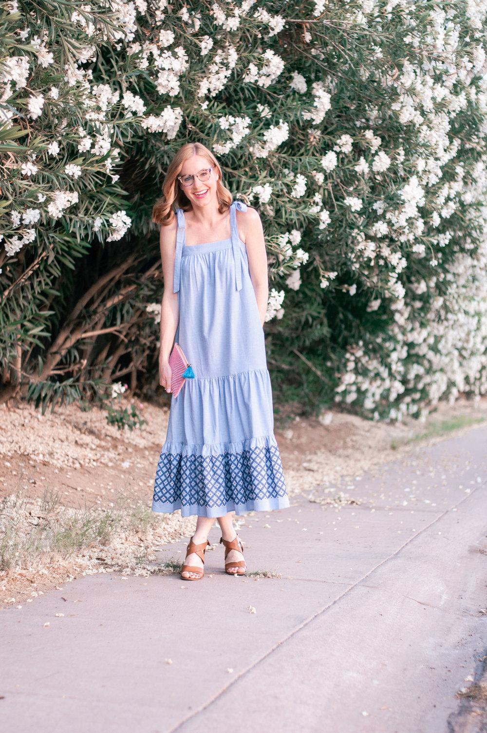 Rebecca Minkoff Chambray Lucy Dress