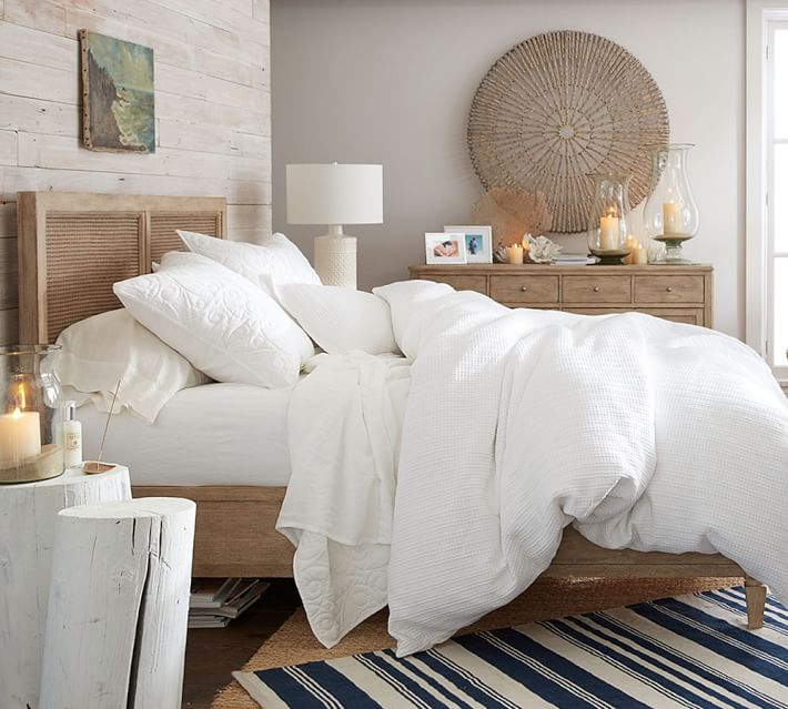 Cozy, Neutral, Relaxed Small Master Bedroom Makeover Ideas - Love ...