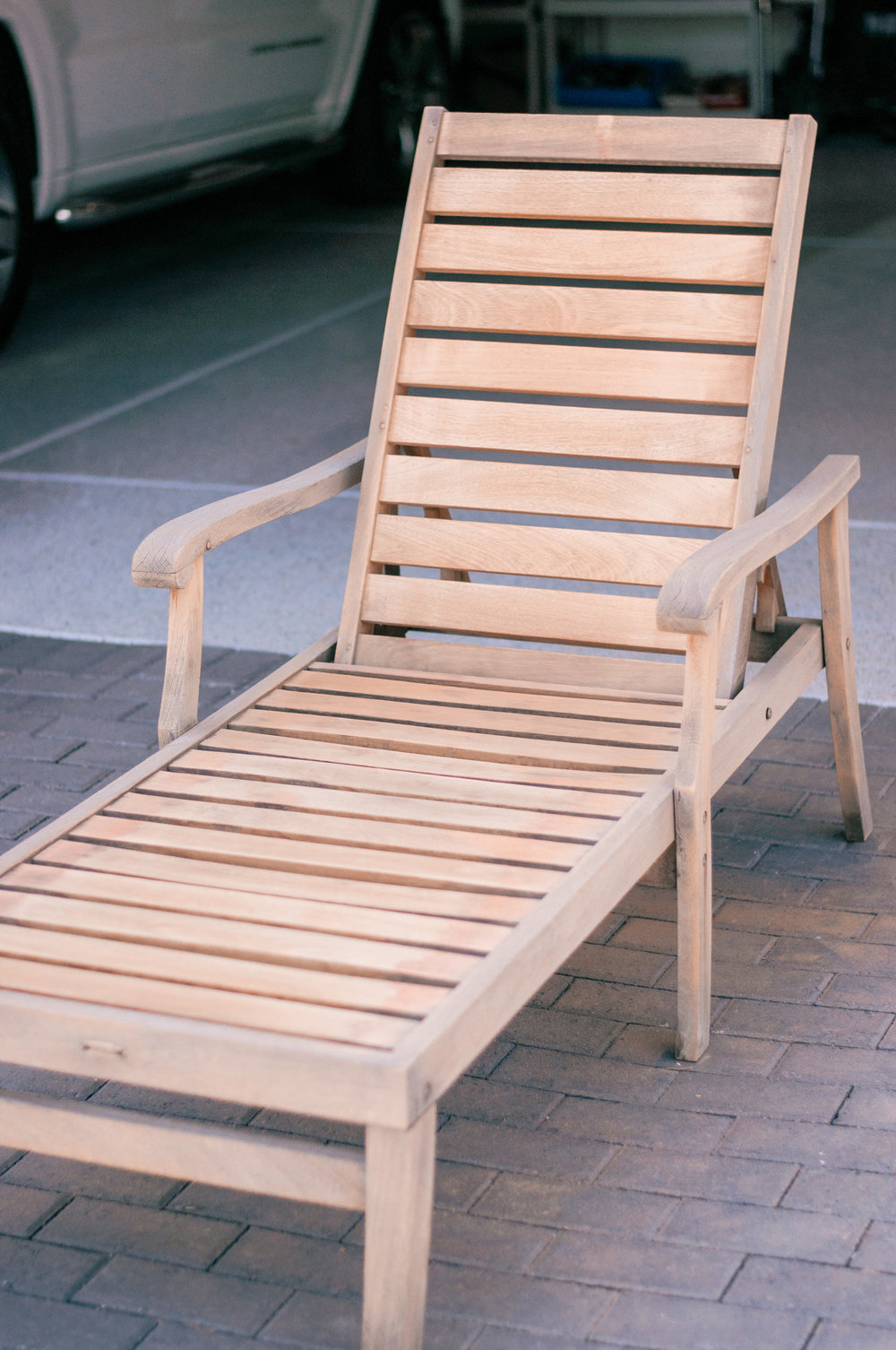 Outdoor Teak Wood Patio Furniture Restoration
