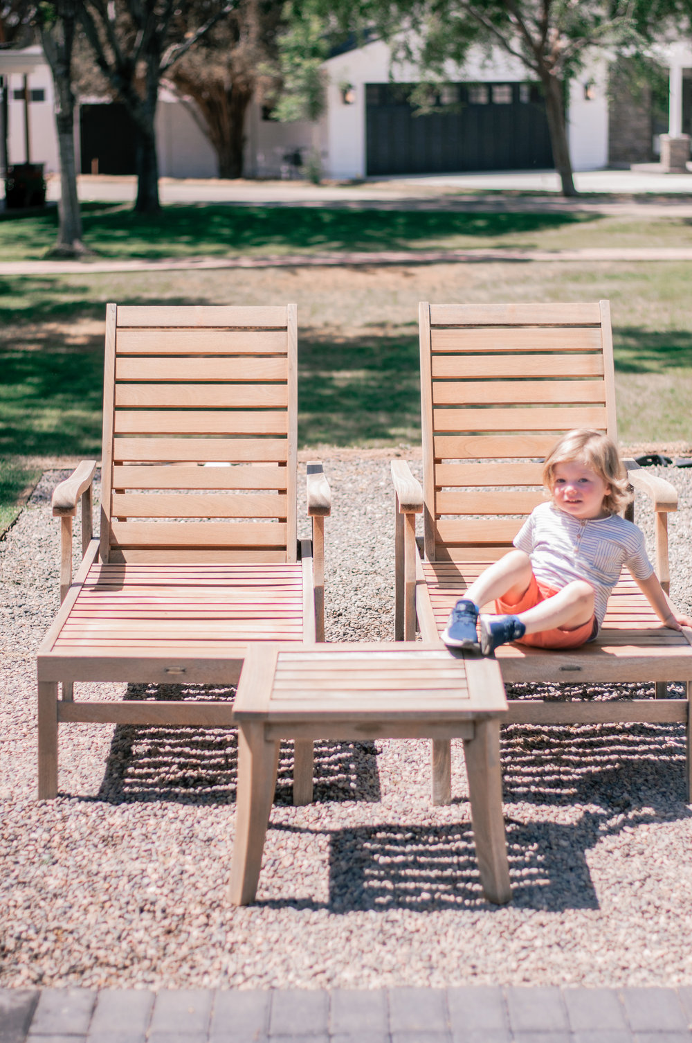 Outdoor Teak Wood Furniture Restoration