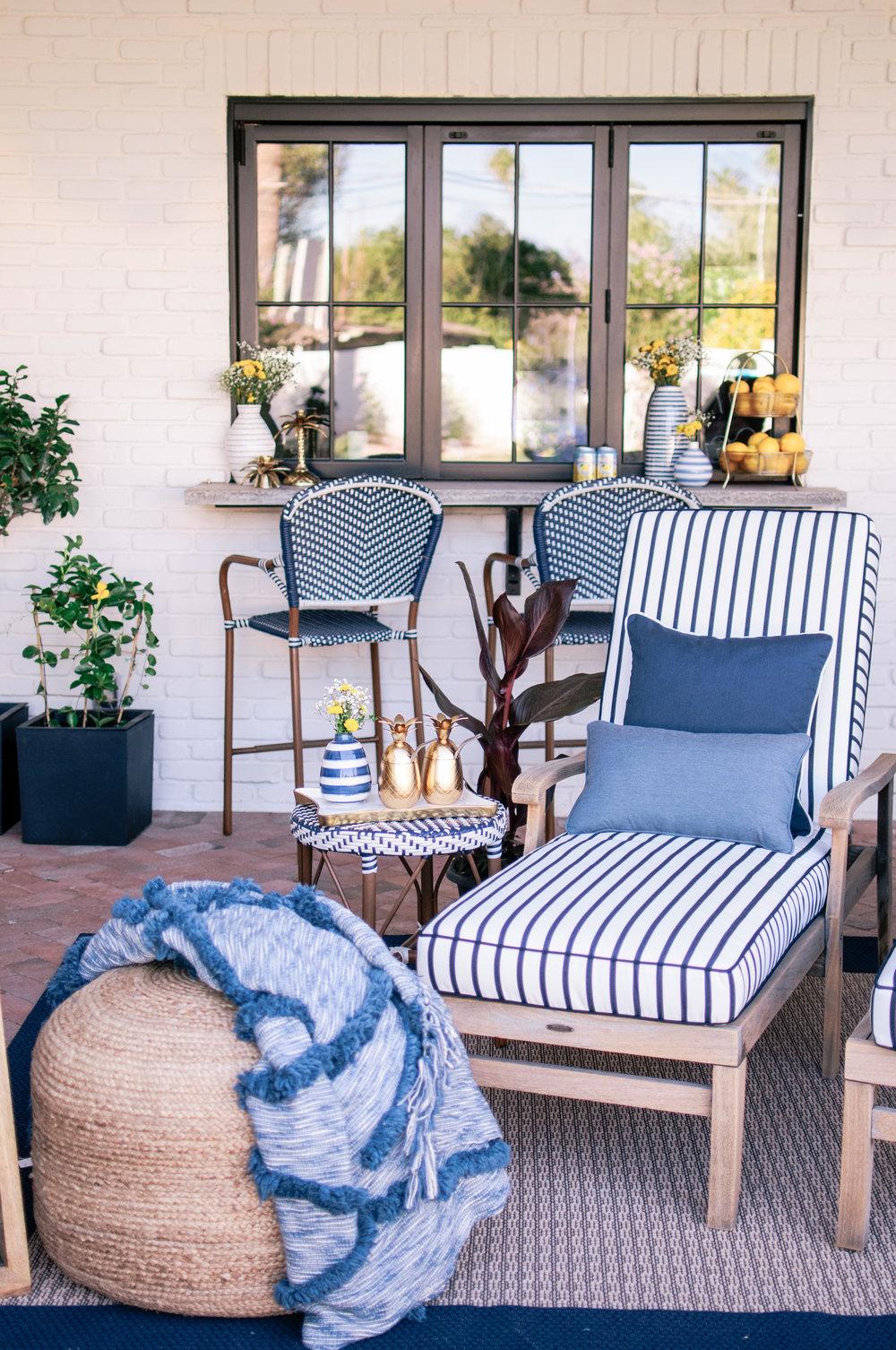 A Dream Outdoor Backyard Patio Oasis on a Budget