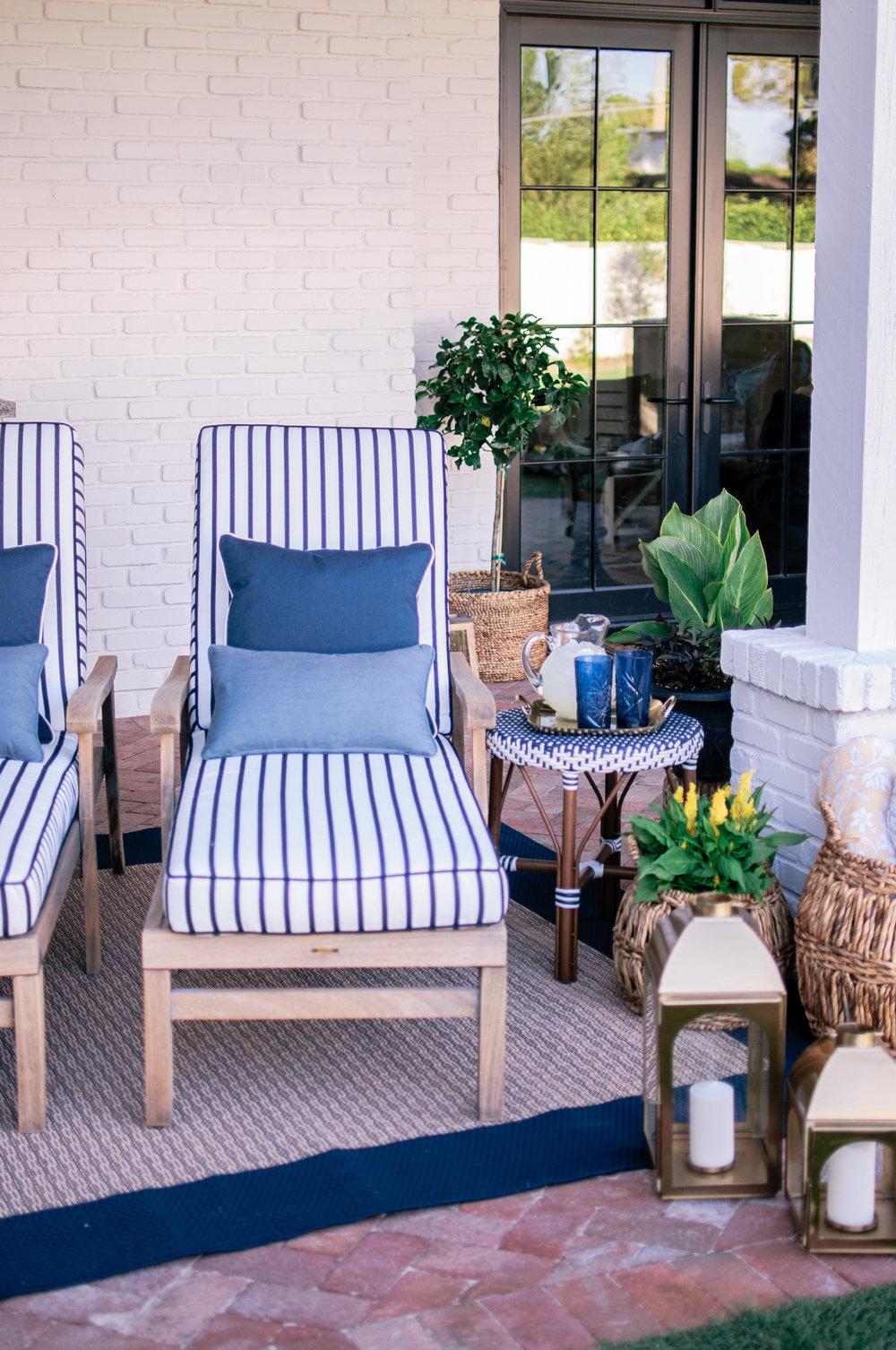 Small Backyard Patio Makeover on a Budget