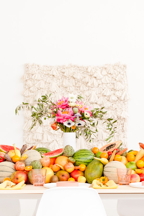 Edible Table Runner for Summer