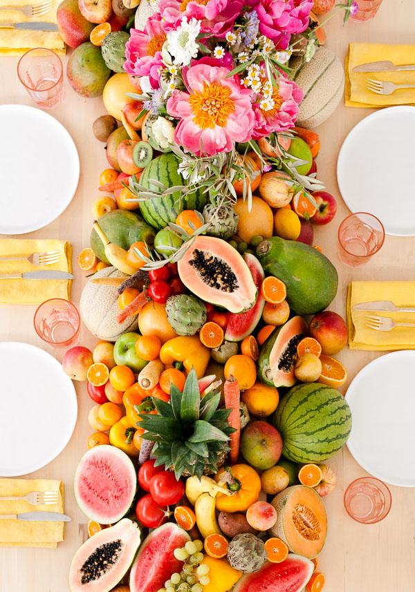 Edible Table Runner
