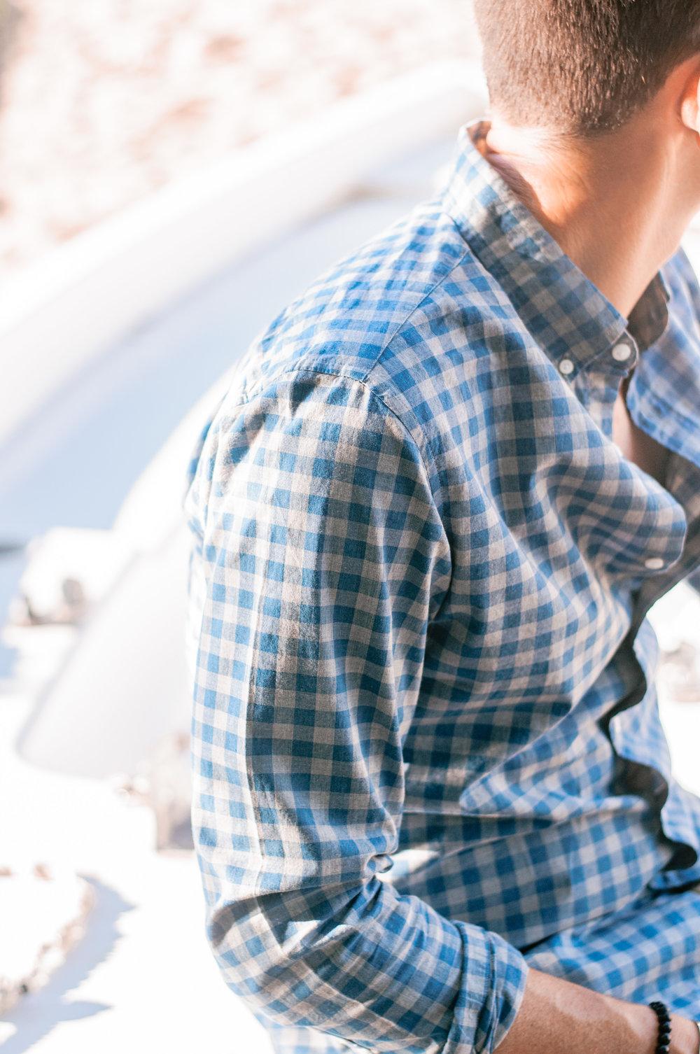 J.Crew Gingham Slim Fit Men's Shirt