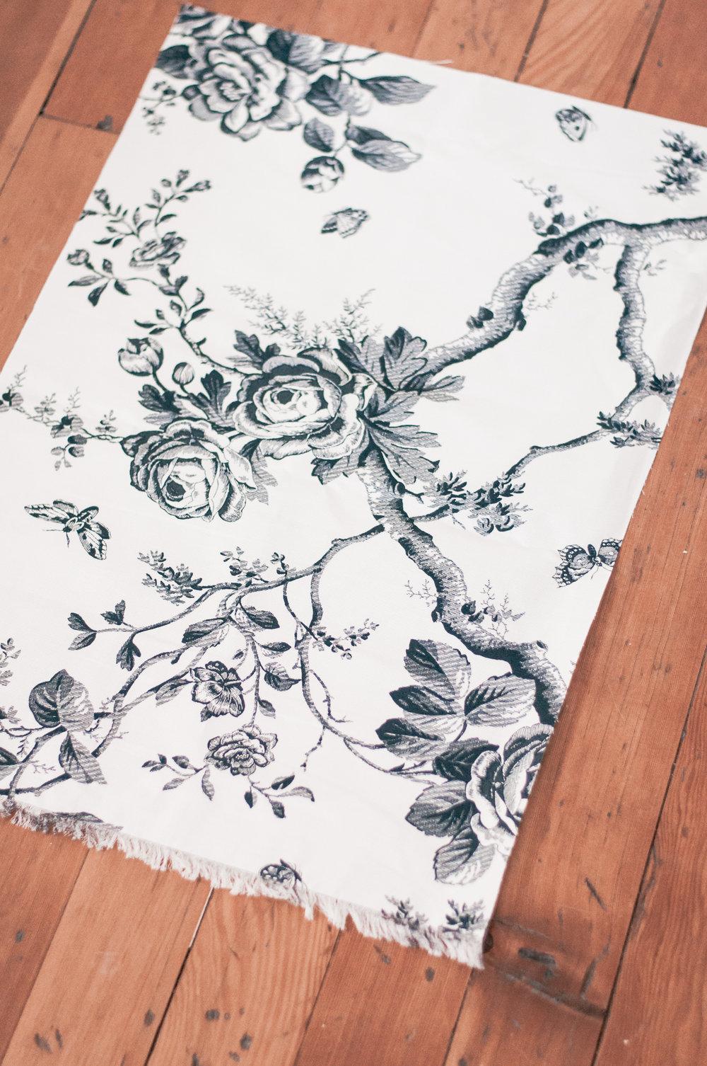 DIY Fabric Scrap Art