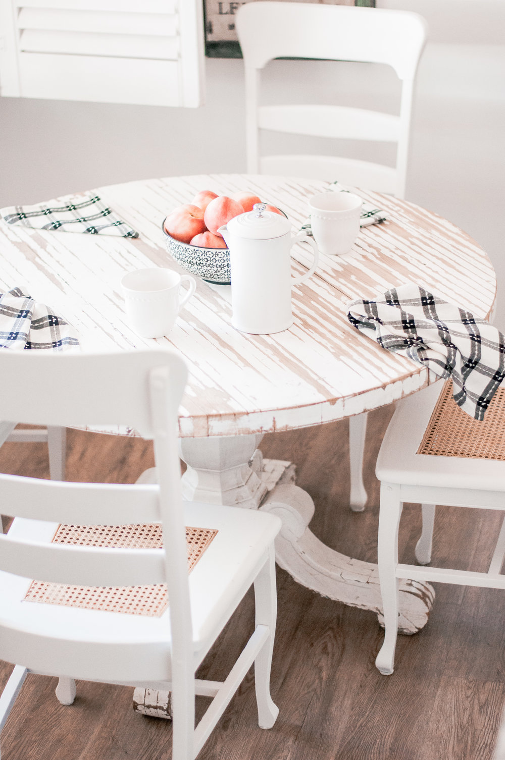 DIY Wooden Farmhouse Chair Redo