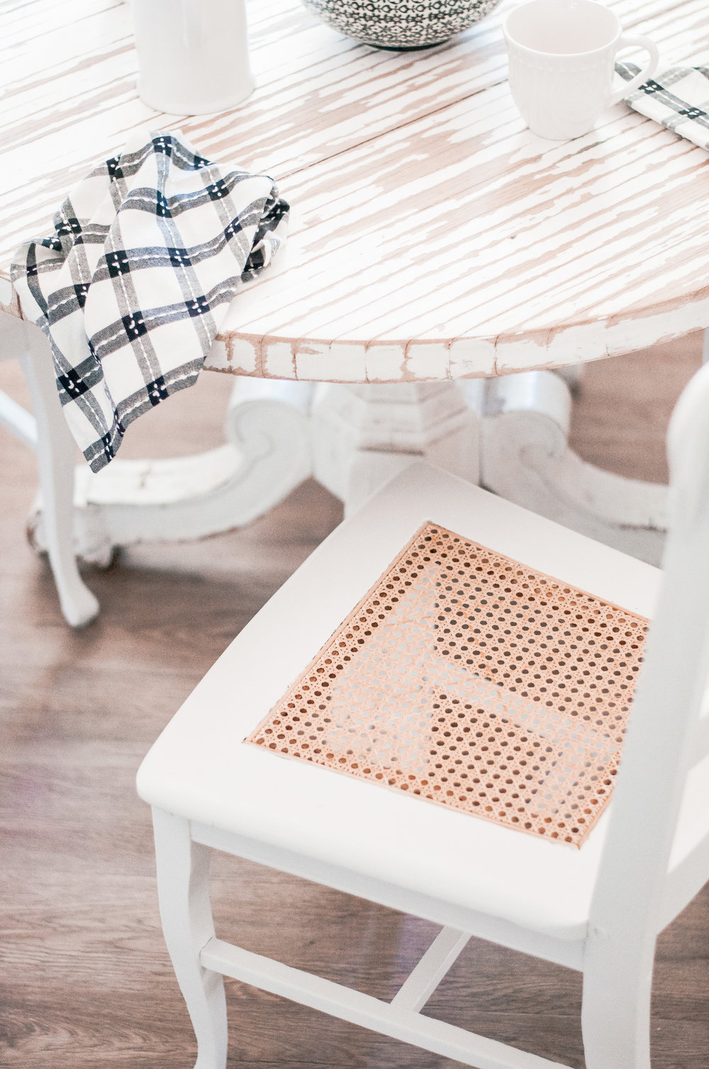 DIY White Dining Chair