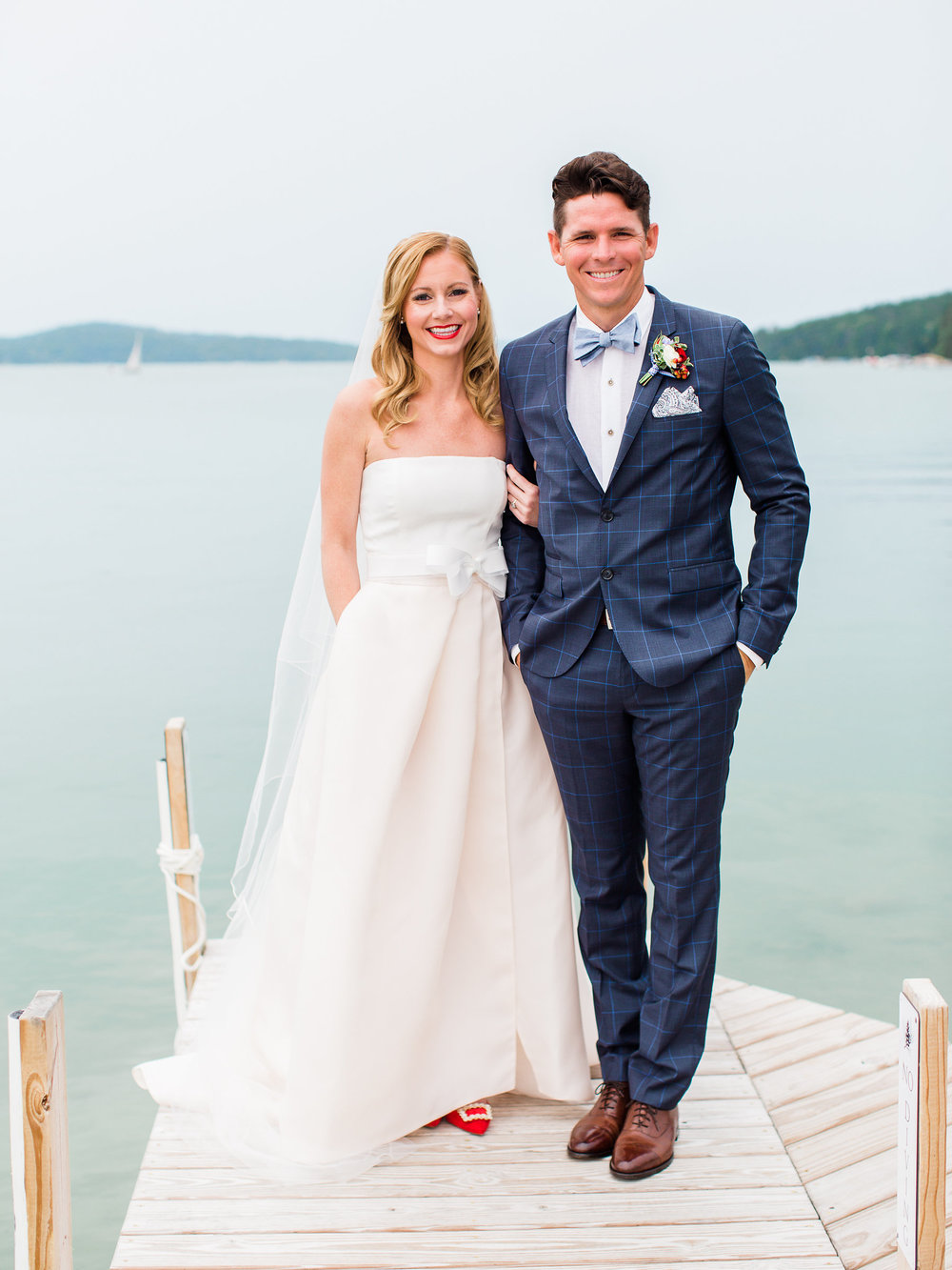 A classic, country summer wedding in Northern Michigan