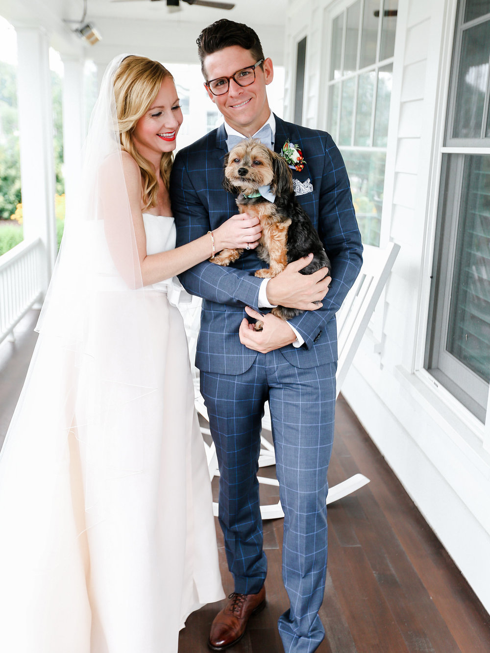 Wedding Dog With Bow Tie Photo Ideas