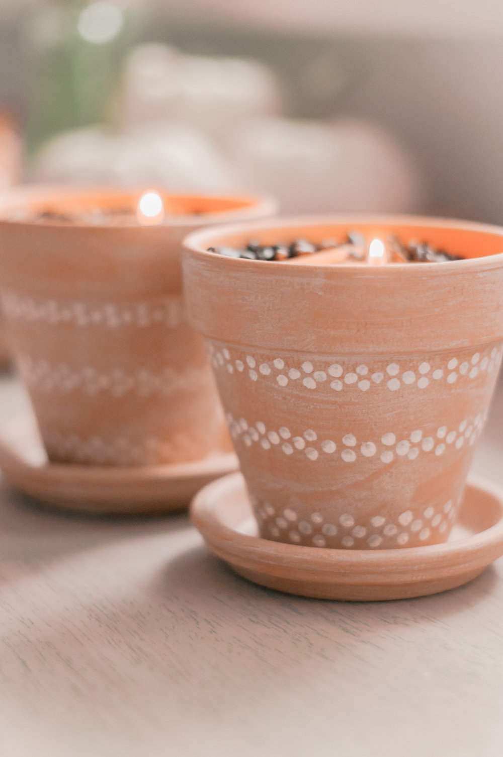 Easy DIY decor project to make your home smell good for Fall