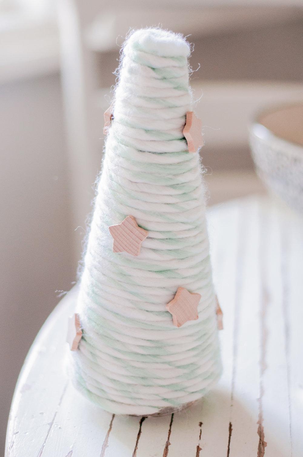 How to Make Yarn Trees