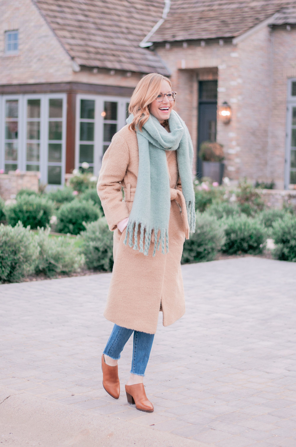 Women's Winter Wool Wrap Coat