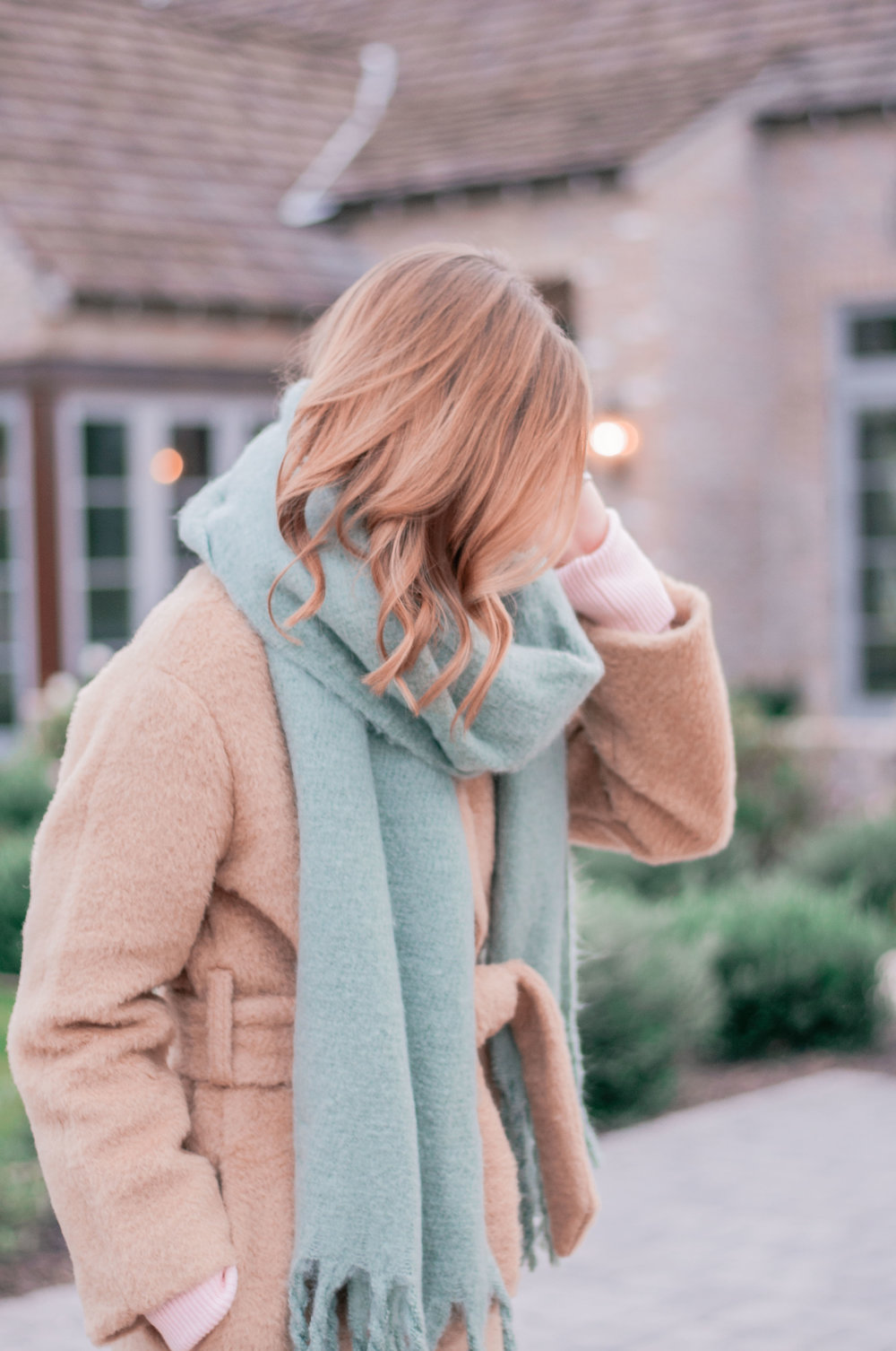 Women's Cute Chunky Winter Scarf