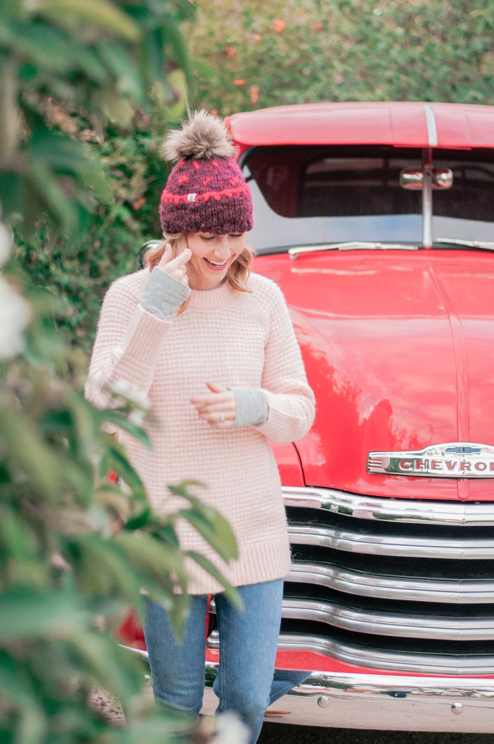 Lou & Grey Pink Texturestitch Sweater