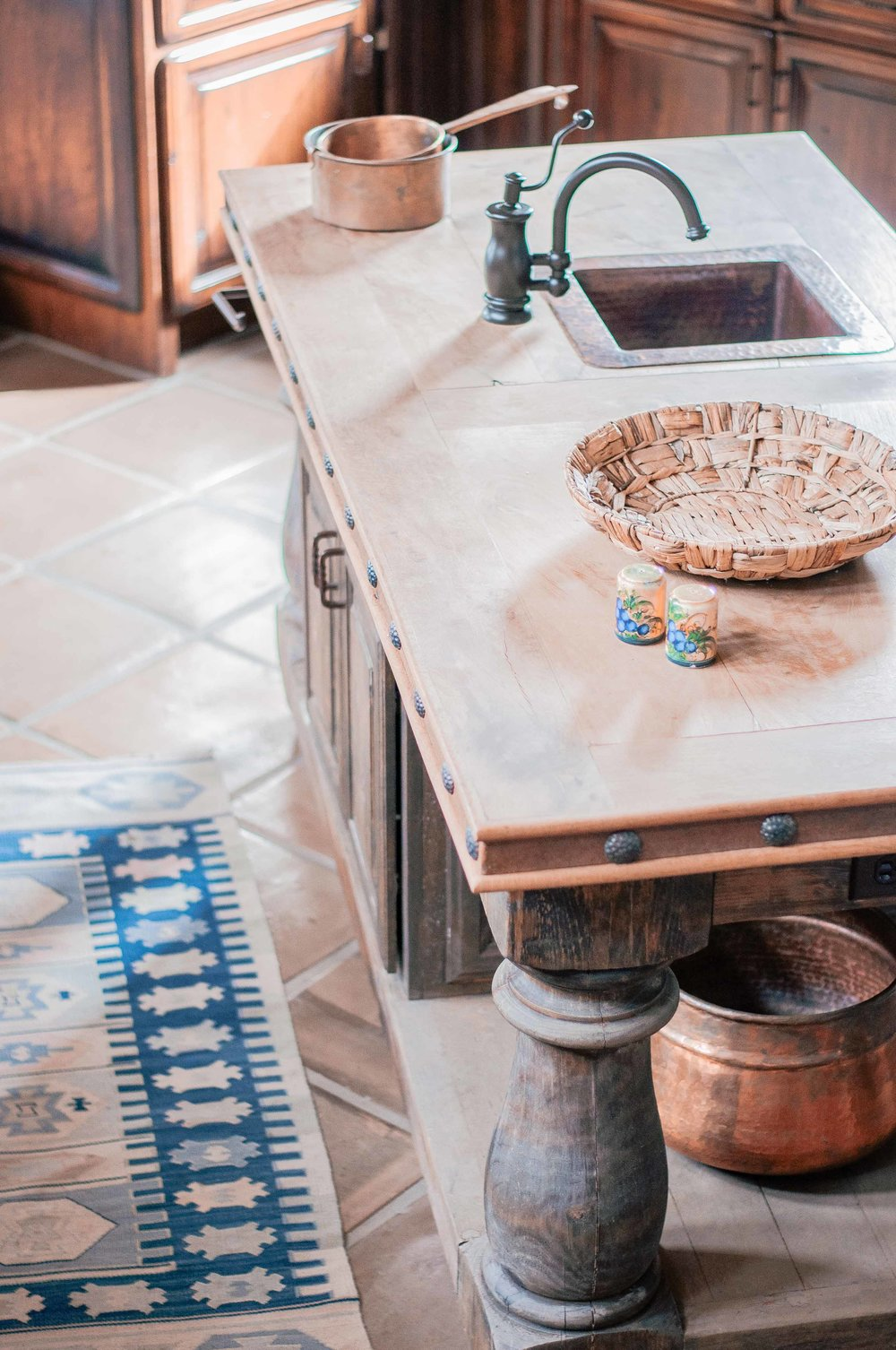 Rustic Southwestern Kitchen