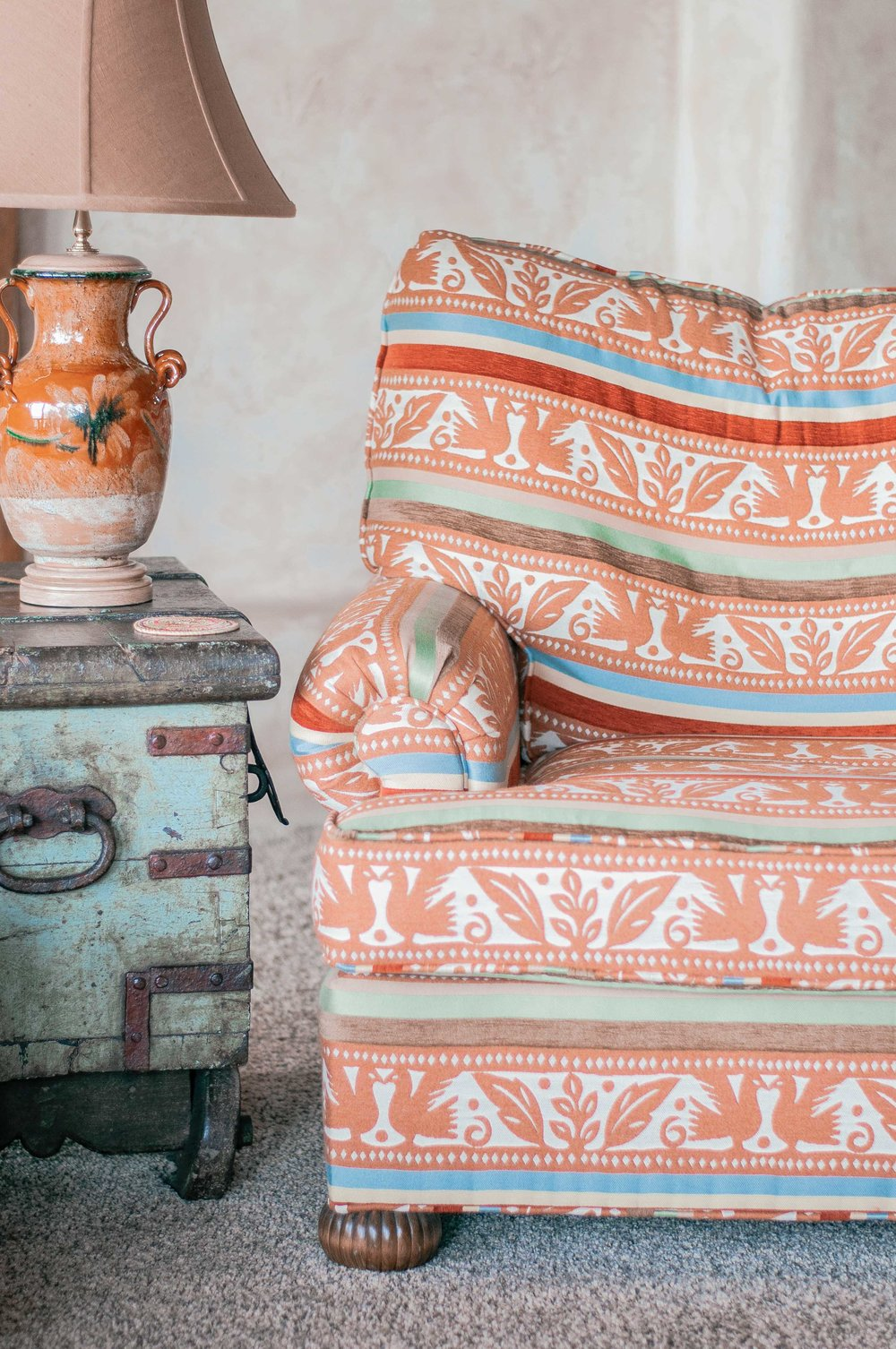 Cozy, Rustic Living Room