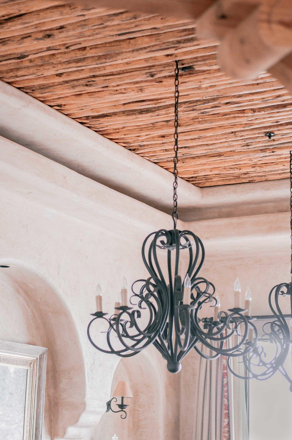 Wood Latillas Ceiling