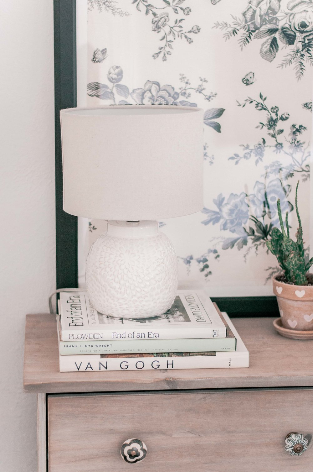 Cheap Nightstand Styling