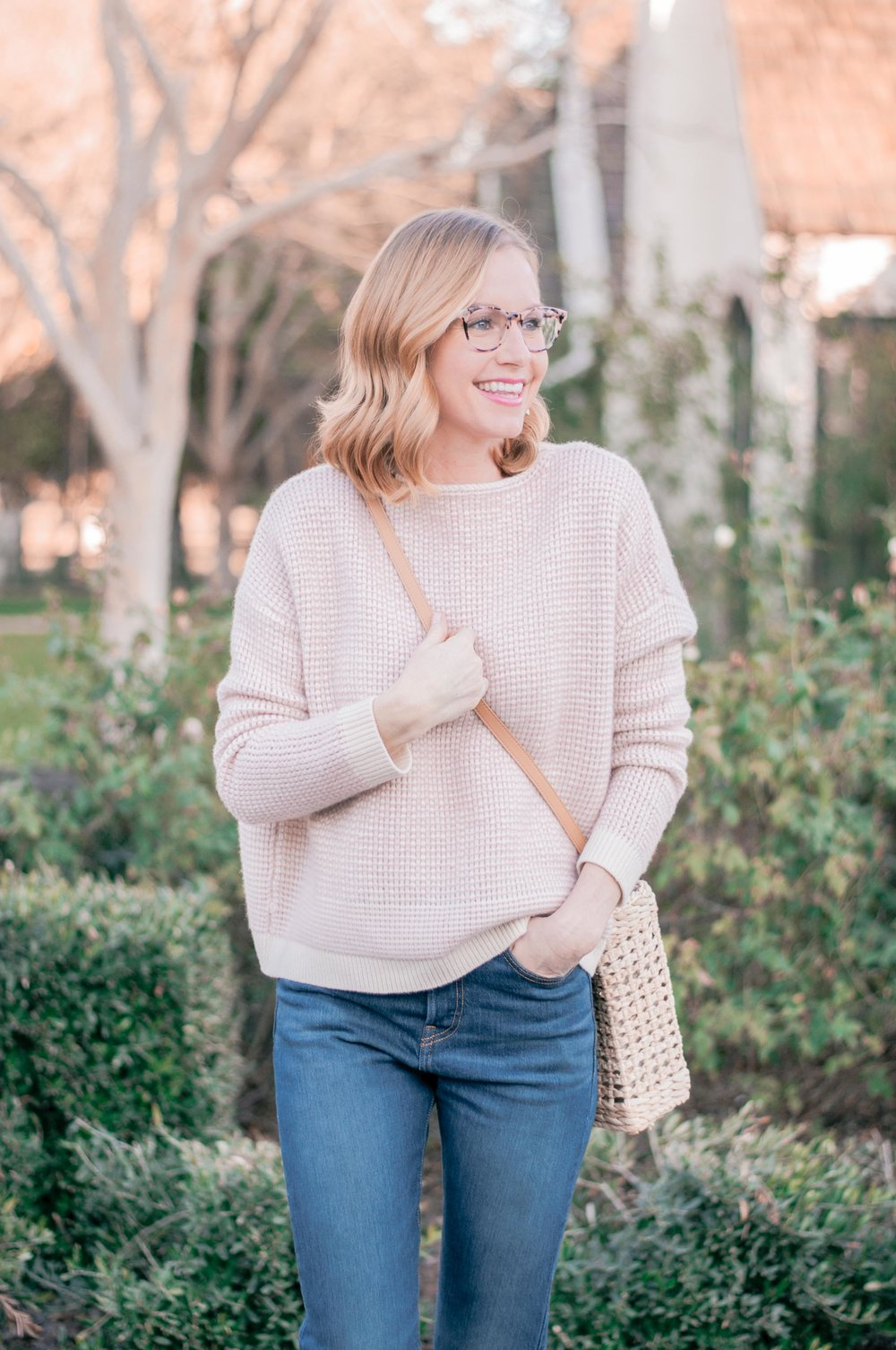 e4643cde1fda Spring Outfit Ideas for When Winter Just Won t Quit - Love and Specs