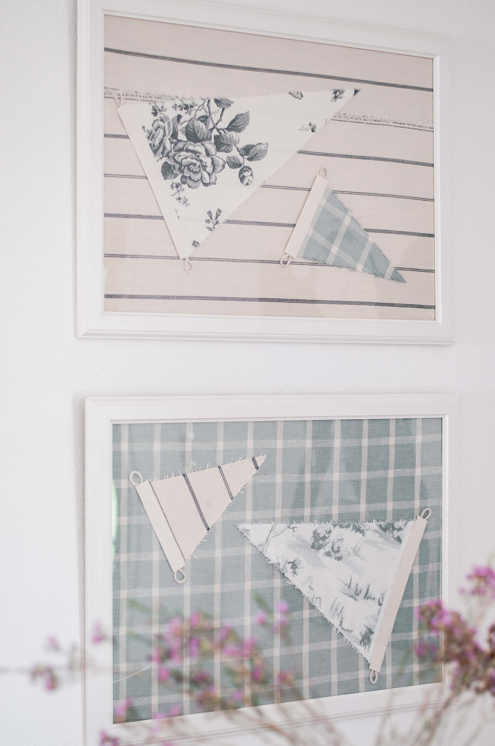 How to Make Vintage Pennants