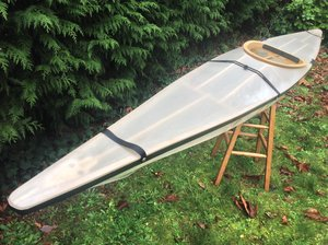 A 12 foot long, 23lb/10kg Skin on Frame Kayak kit that almost anyone can build over a couple of weekends with just a few simple tools.