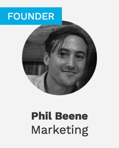 Phil - Co-Founder / President and head of marketing at Nudge.