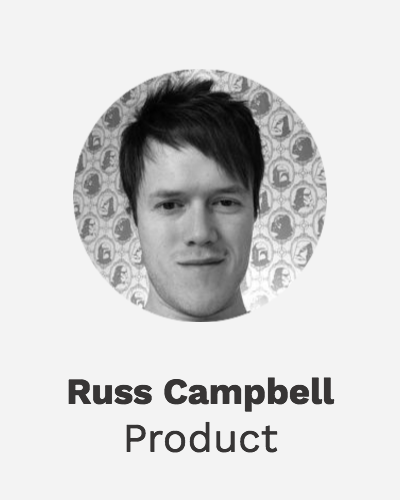 Russ - User Interface / User Experience Director and head of design at Nudge.