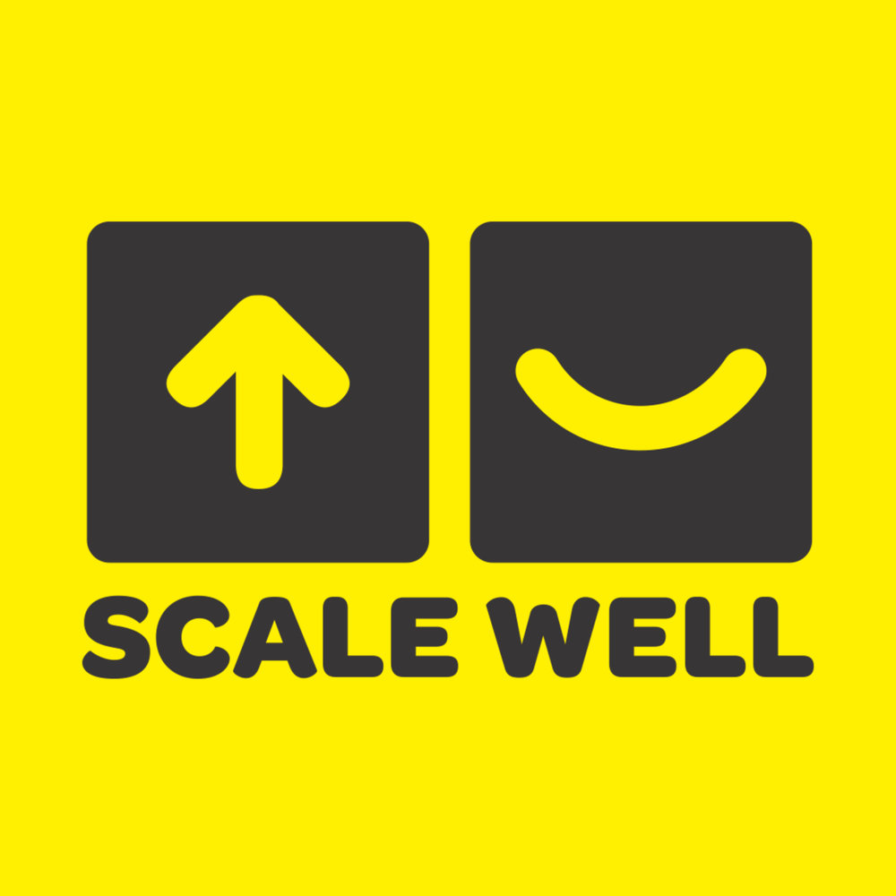 Scale Well Podcast Cover Yellow