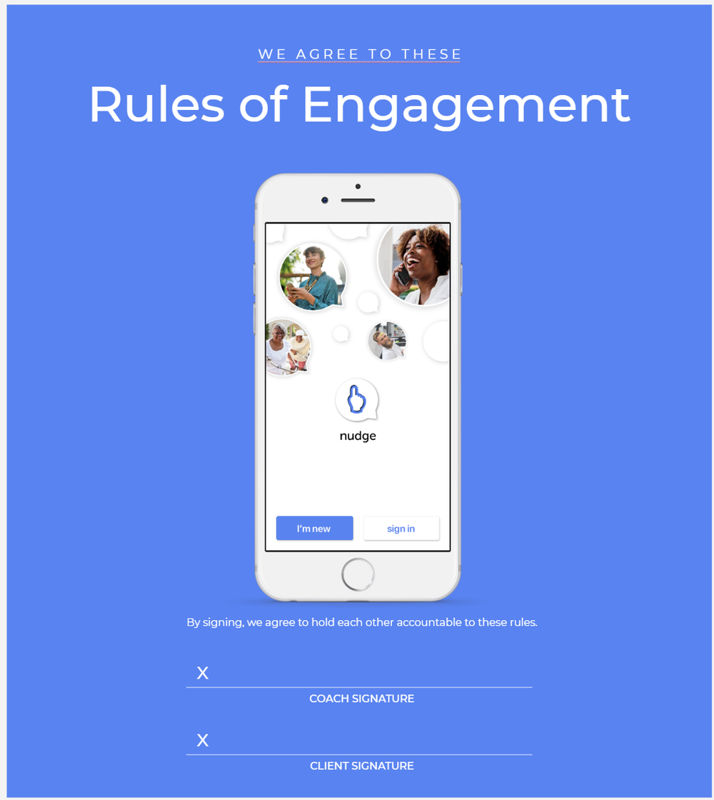 Nudge Coaching Rules of Engagement Template