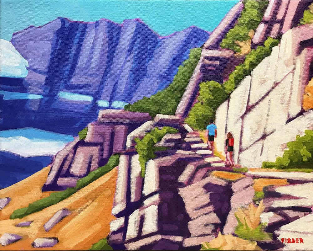 Rocky Mountain Summer - 16 x 20, Acrylic on Canvas