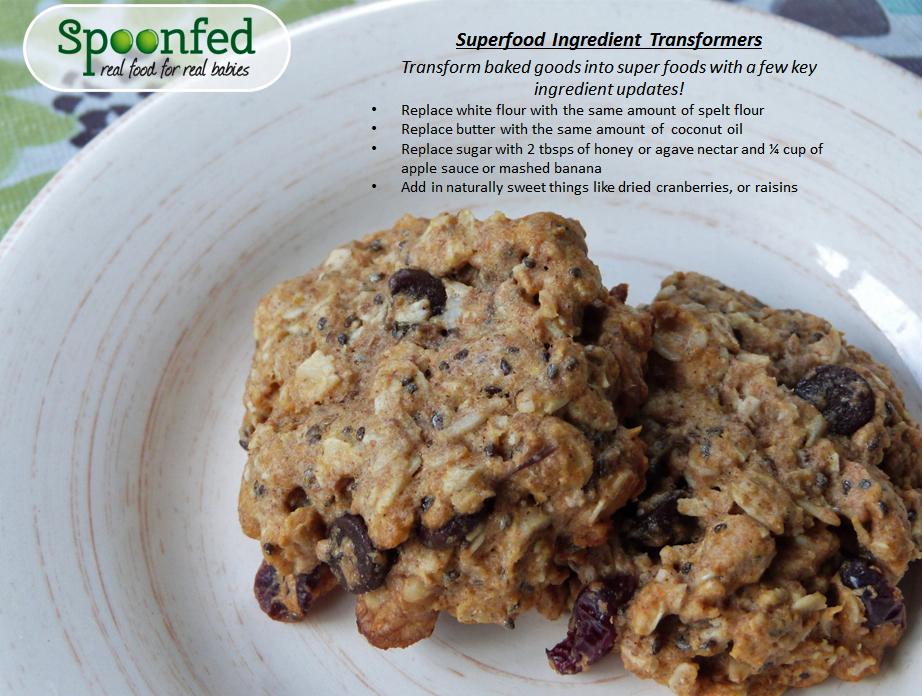 superfood granola cookies spoonfed_babyfood
