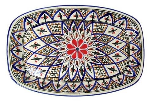 Le Souk Ceramique | Rectangle Tabarka Platter