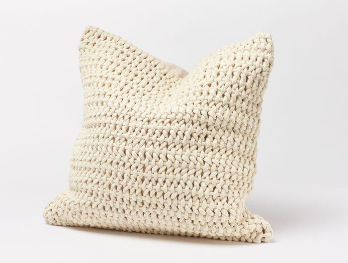 Woven Rope Throw Pillow | Coyuchi