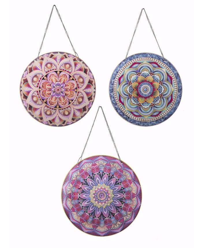 Mandala Glass Window Art