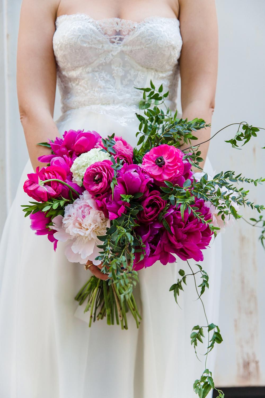 Loose asymmetrical bouquet by B Floral DC