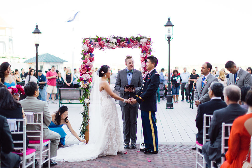 Ceremony arch by B Floral DC
