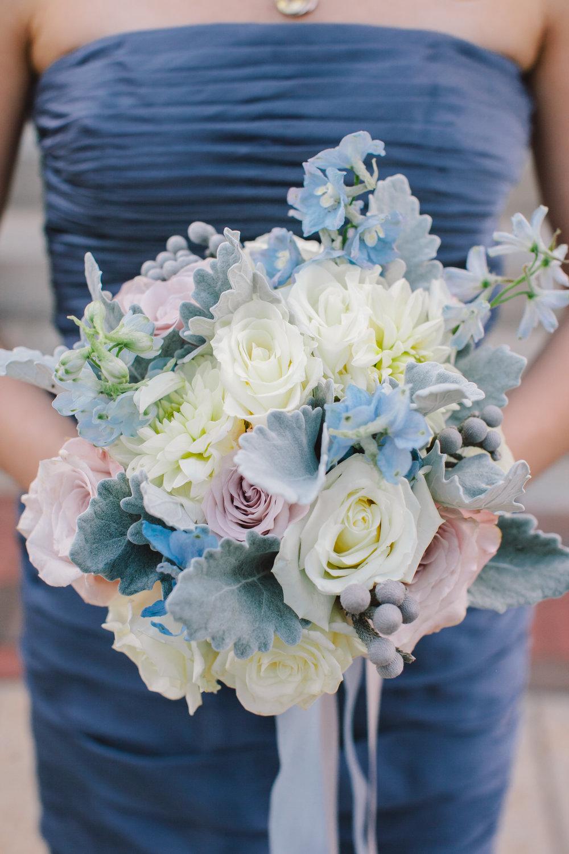 Blue bouquet by B Floral DC