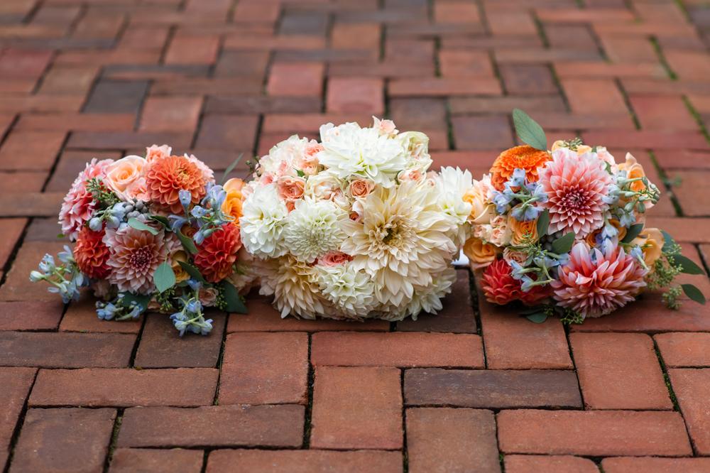 Dahlia bouquets by B Floral DC