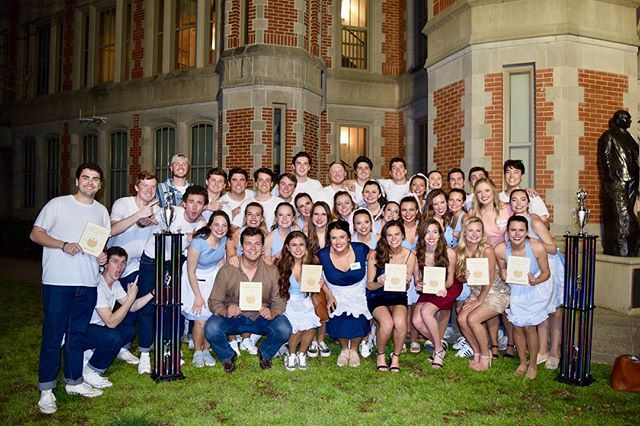 """Talk about a Scandals sweep! """"The Edge"""" won 1st Place Overall, Best Vocal Performance, Best Ensemble, Best Script, Best Props, Best Acapella, Best Song, and Best Male Lead! So proud of KAΘ and ΒΘΠ!"""