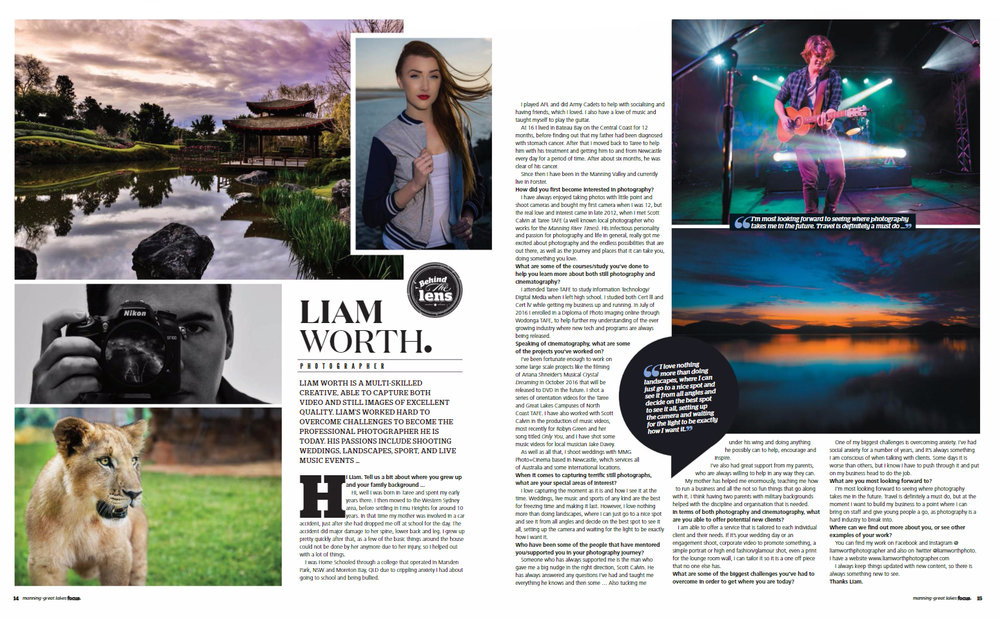 Interview in Focus Magazine -