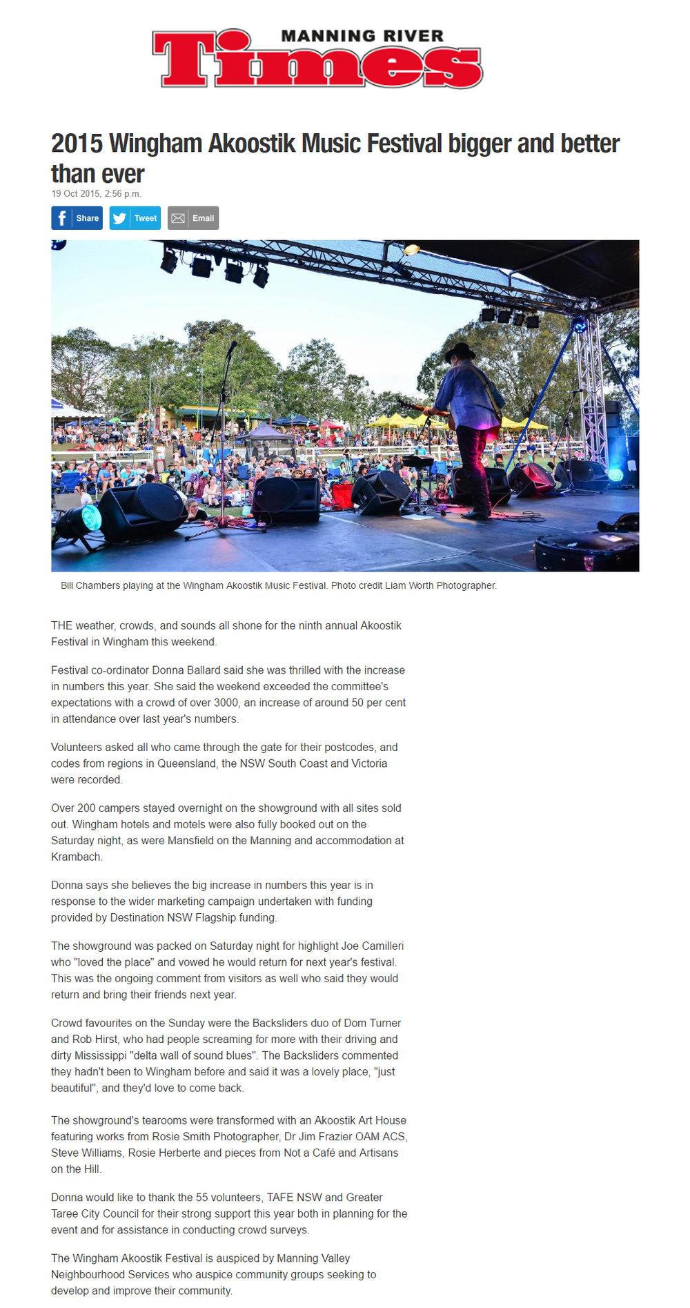 2015 Akoostik Festival Wrap Up -