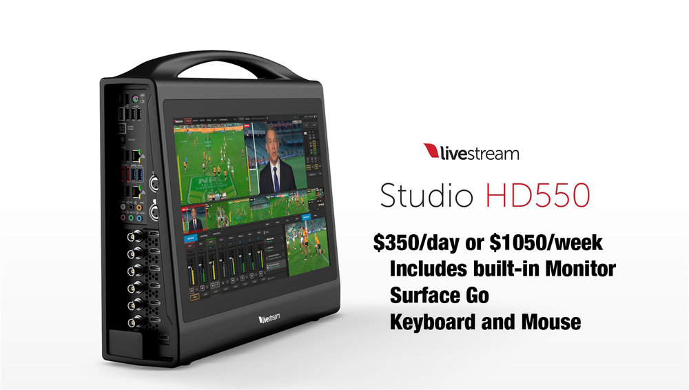 LiveStream HD550 Rental