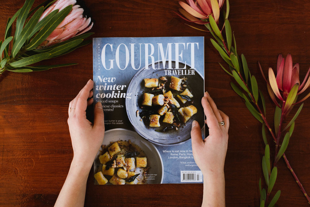 Gourmet Traveller - Australian July 2017