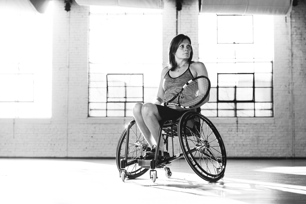 Jennifer Speer / wheelchair tennis