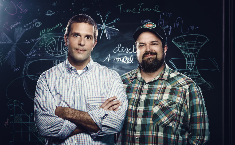 Josh Clark and Chuck Bryant for Science Channel