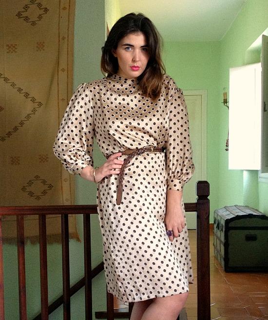 vintage clothes 70s polkadot dress 937y iughfw iueghw 9743.jpg