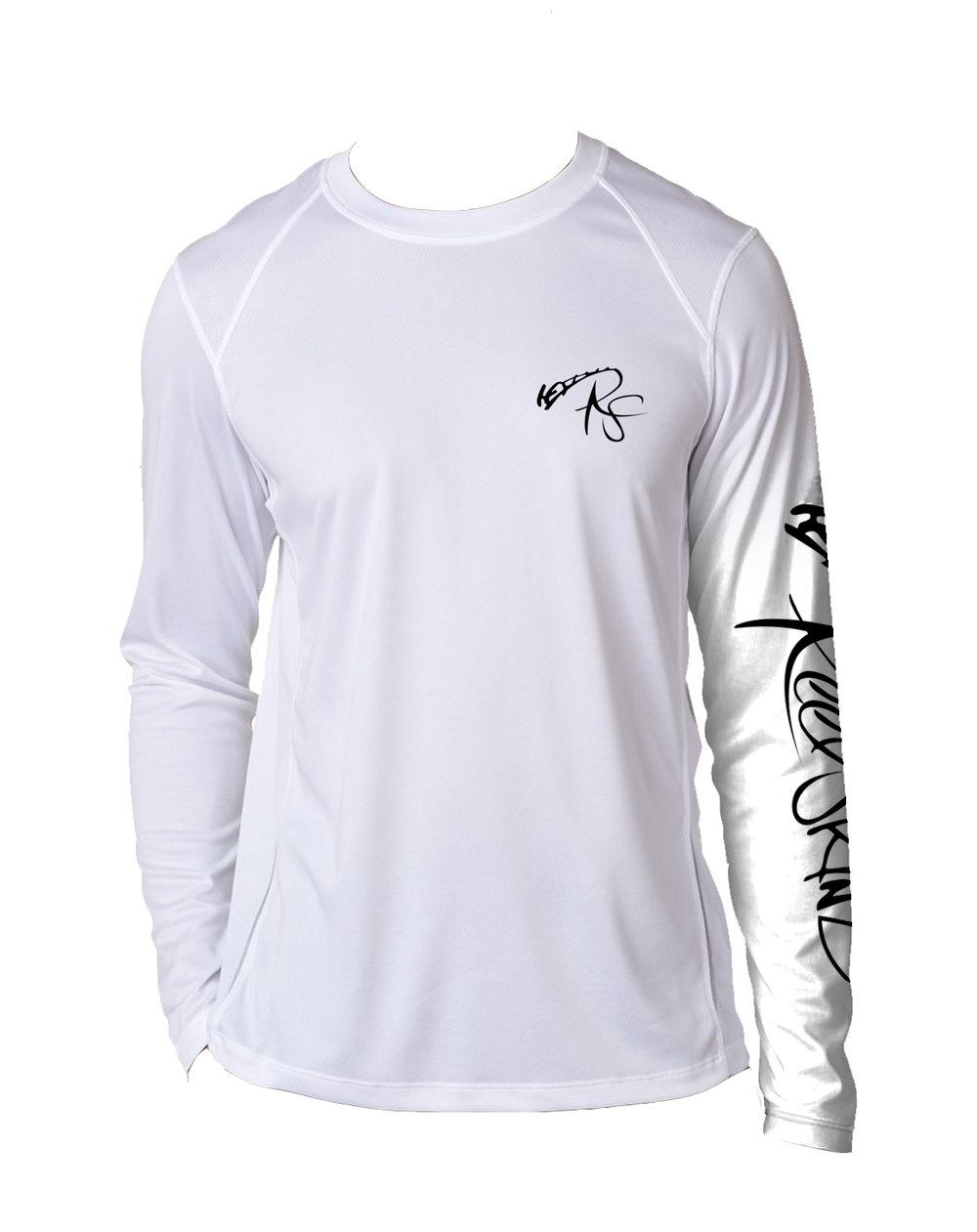 Sword skinz drawing longsleeve high performance spf for Spf shirts for fishing