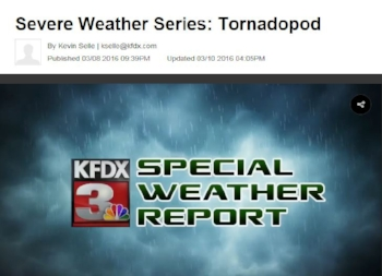KDFX Severe weather series vol. 2.